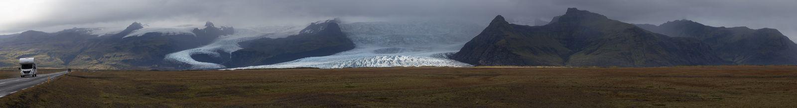 Lenguas glaciares desde lejos...