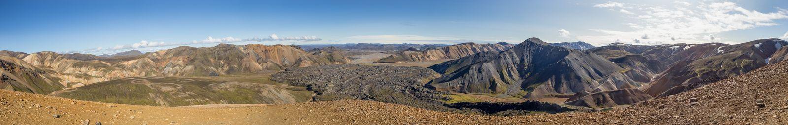 360 grados de maravillas volcánicas