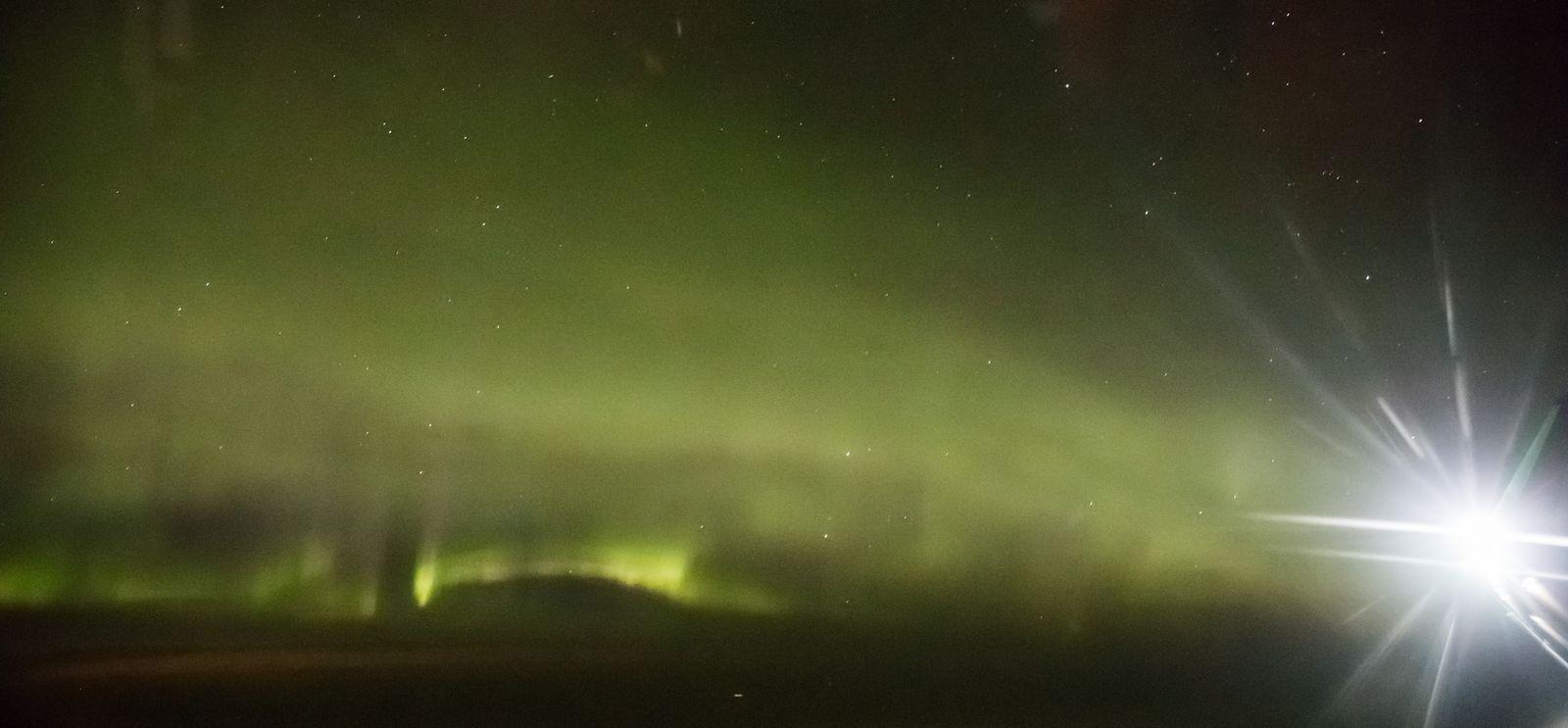 Si el objetivo era ver auroras, es un buen comienzo