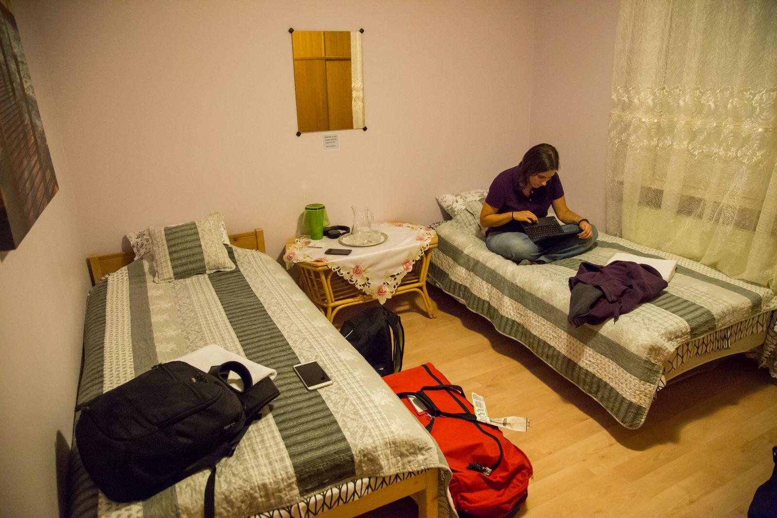 Nuestro efímero dormitorio
