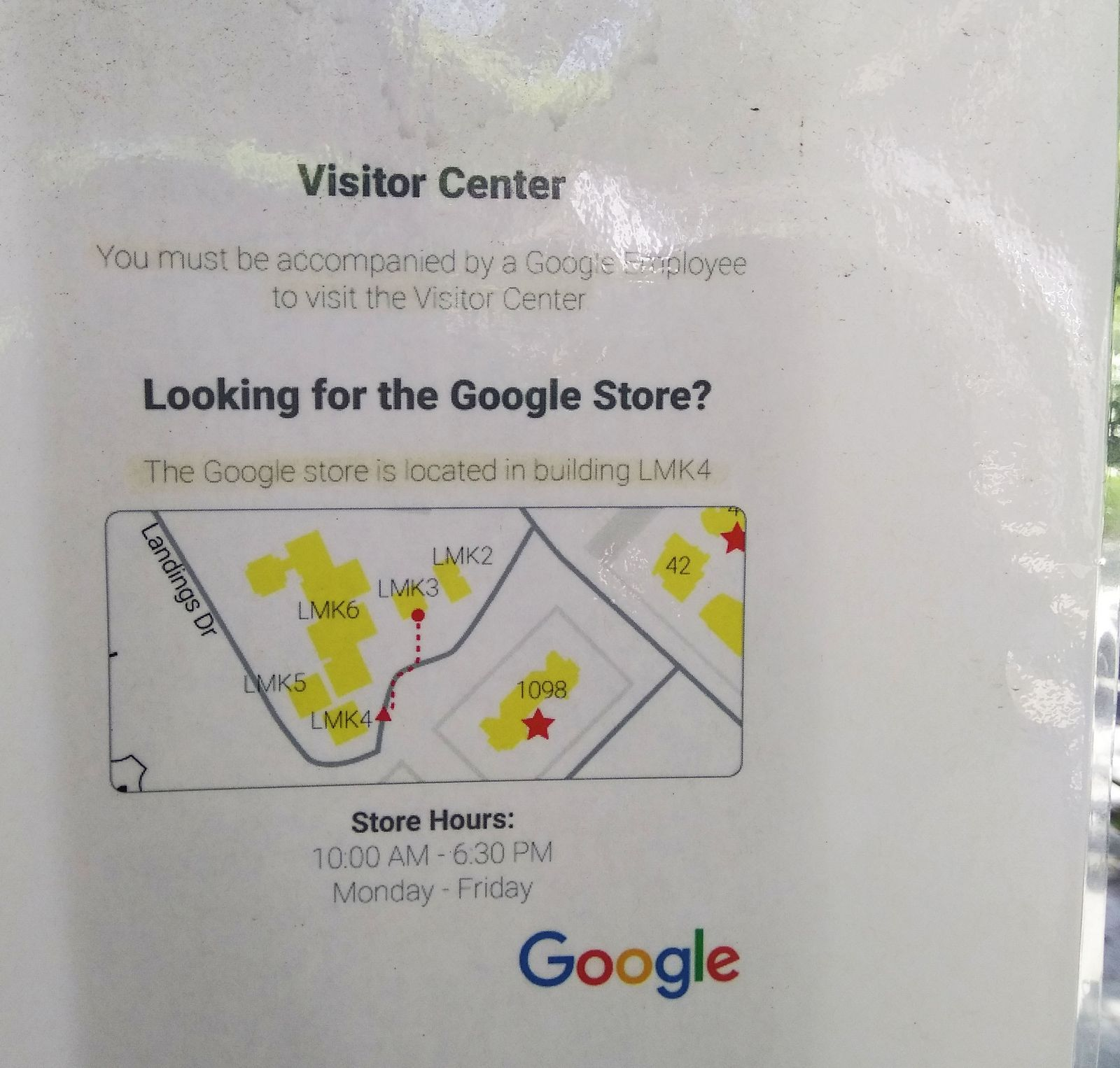 Nos quedamos sin ver el Visitor Center