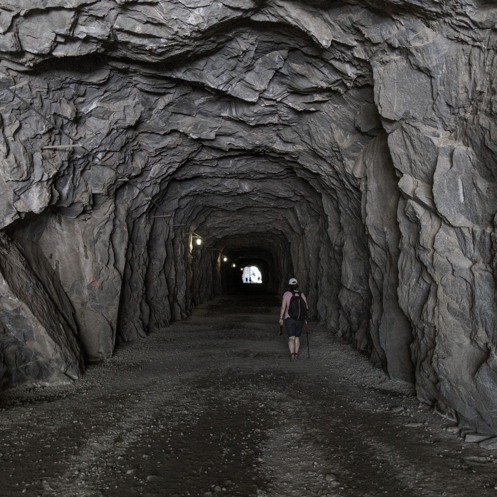 El puente que da acceso a las excursiones