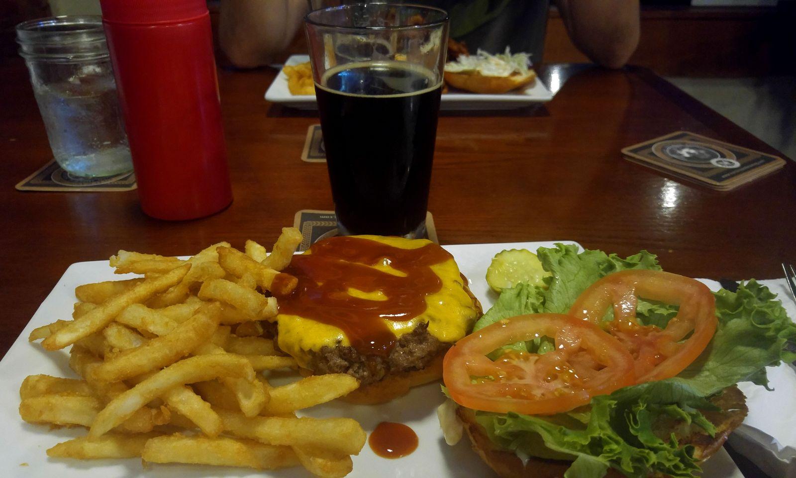 La espectacular hamburguesa