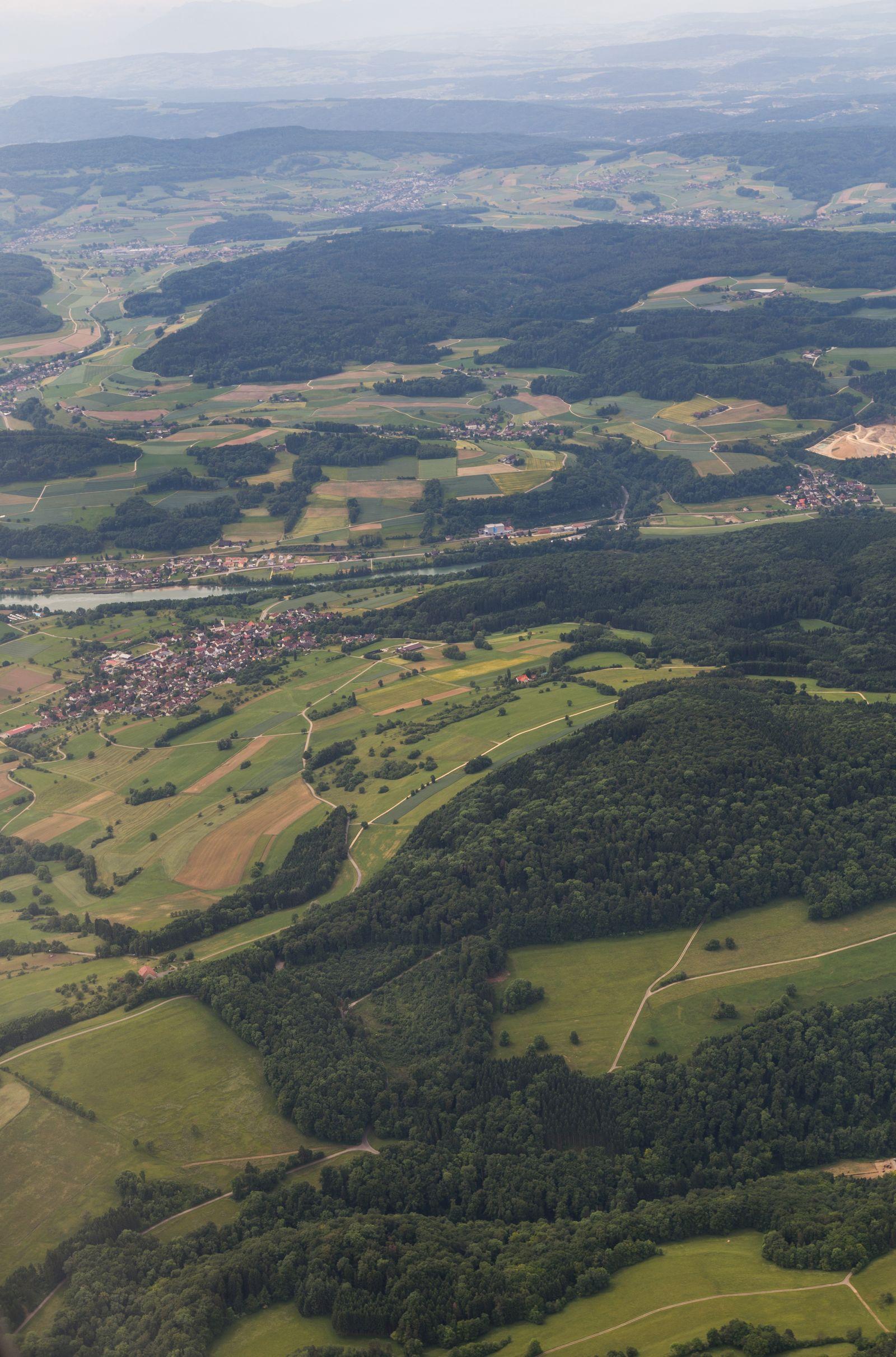 La verde Suiza