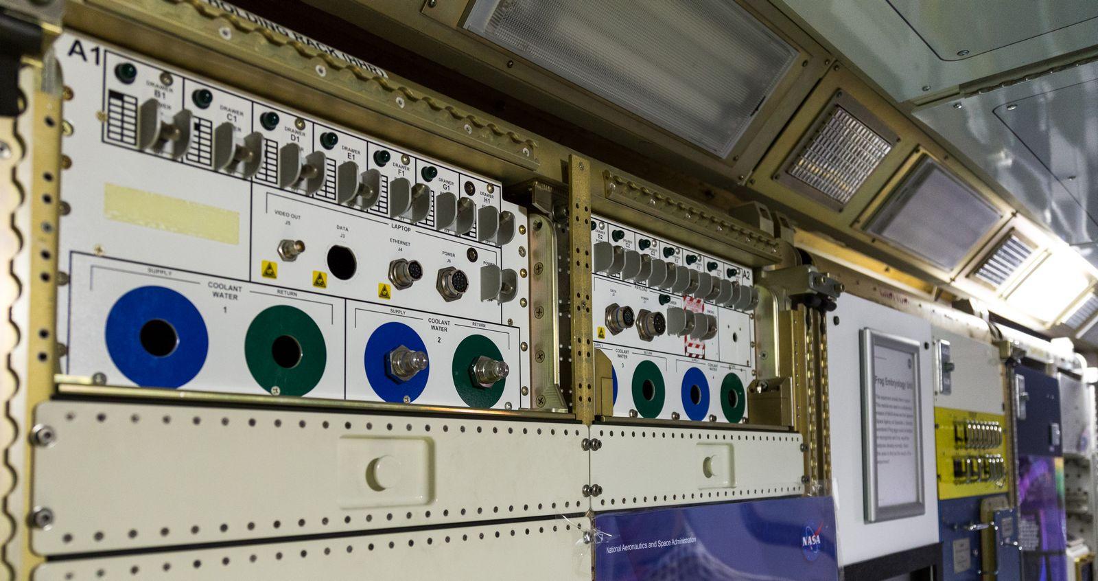 Botones y válvulas por todas partes