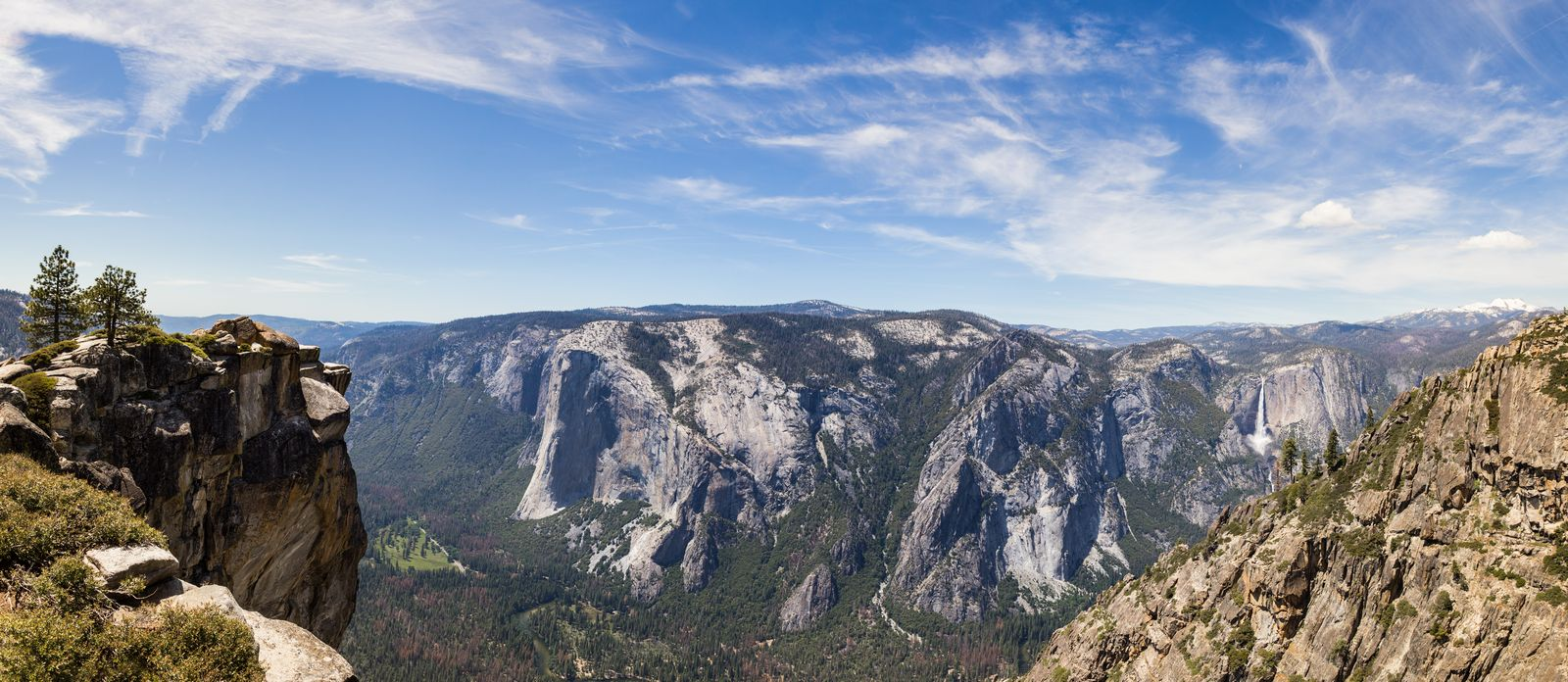 Las vistas desde Taft Point