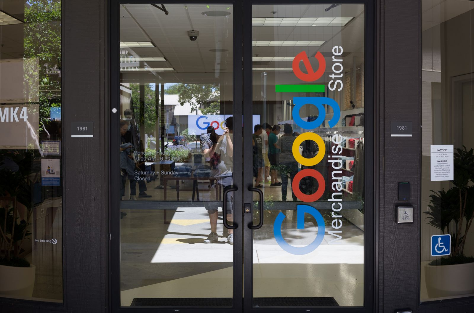 La Google Marketing Store, por fuera