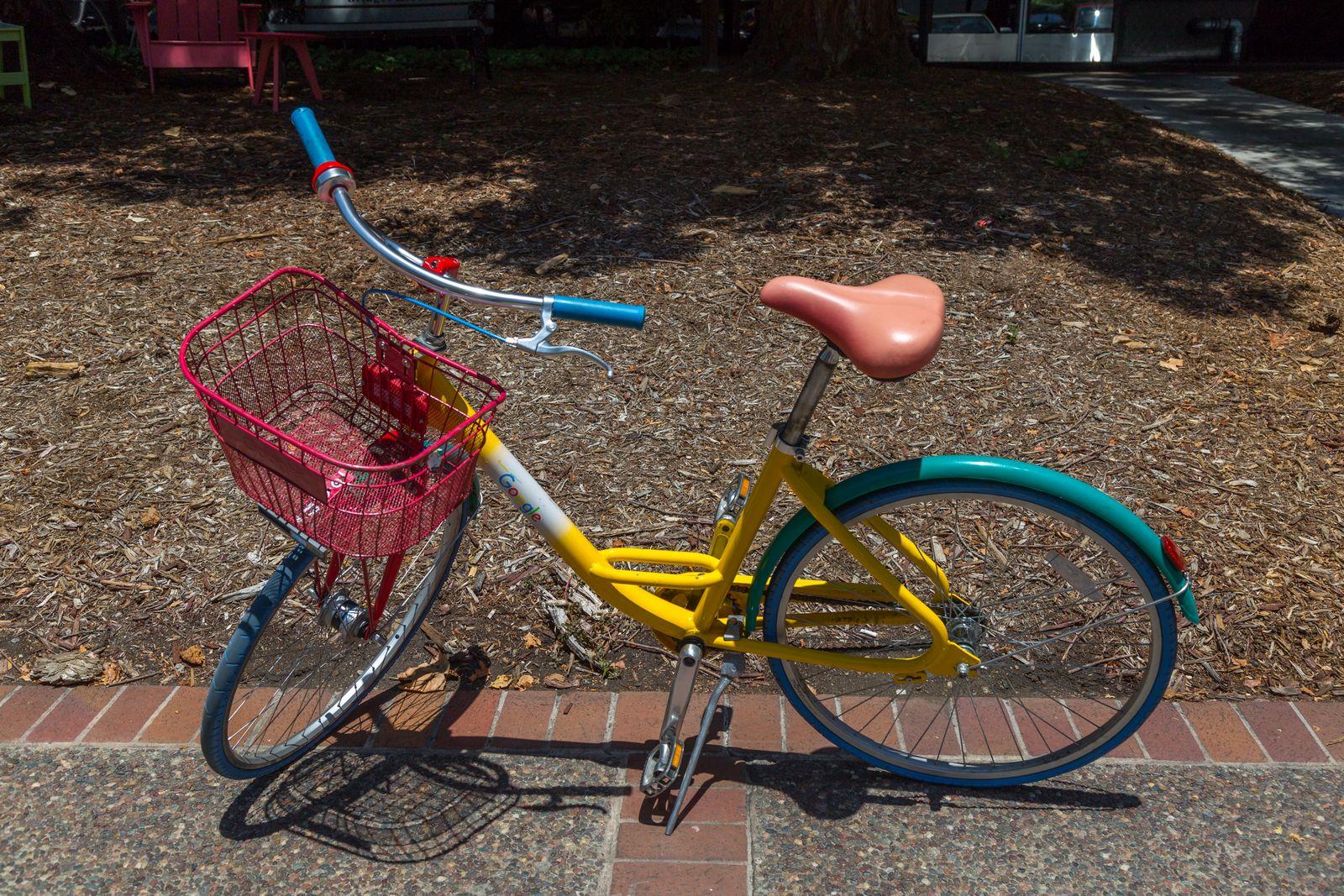 Las bicicletas para empleados