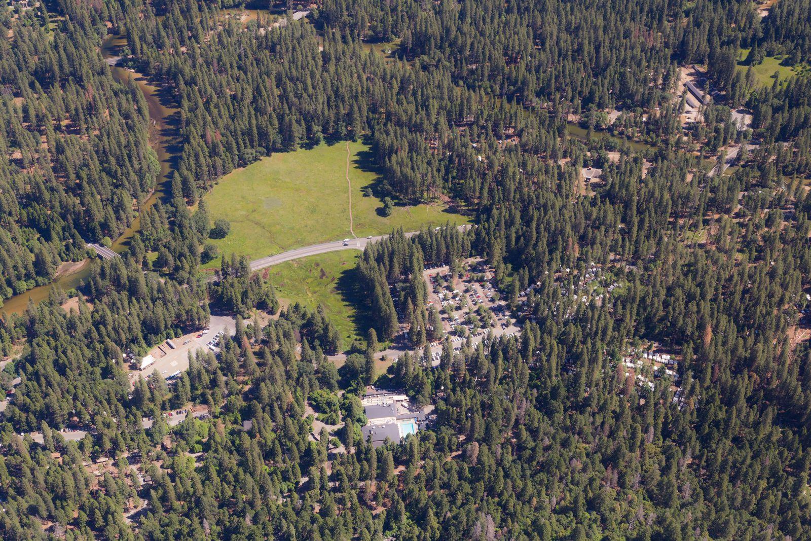 Yosemite Valley desde las alturas