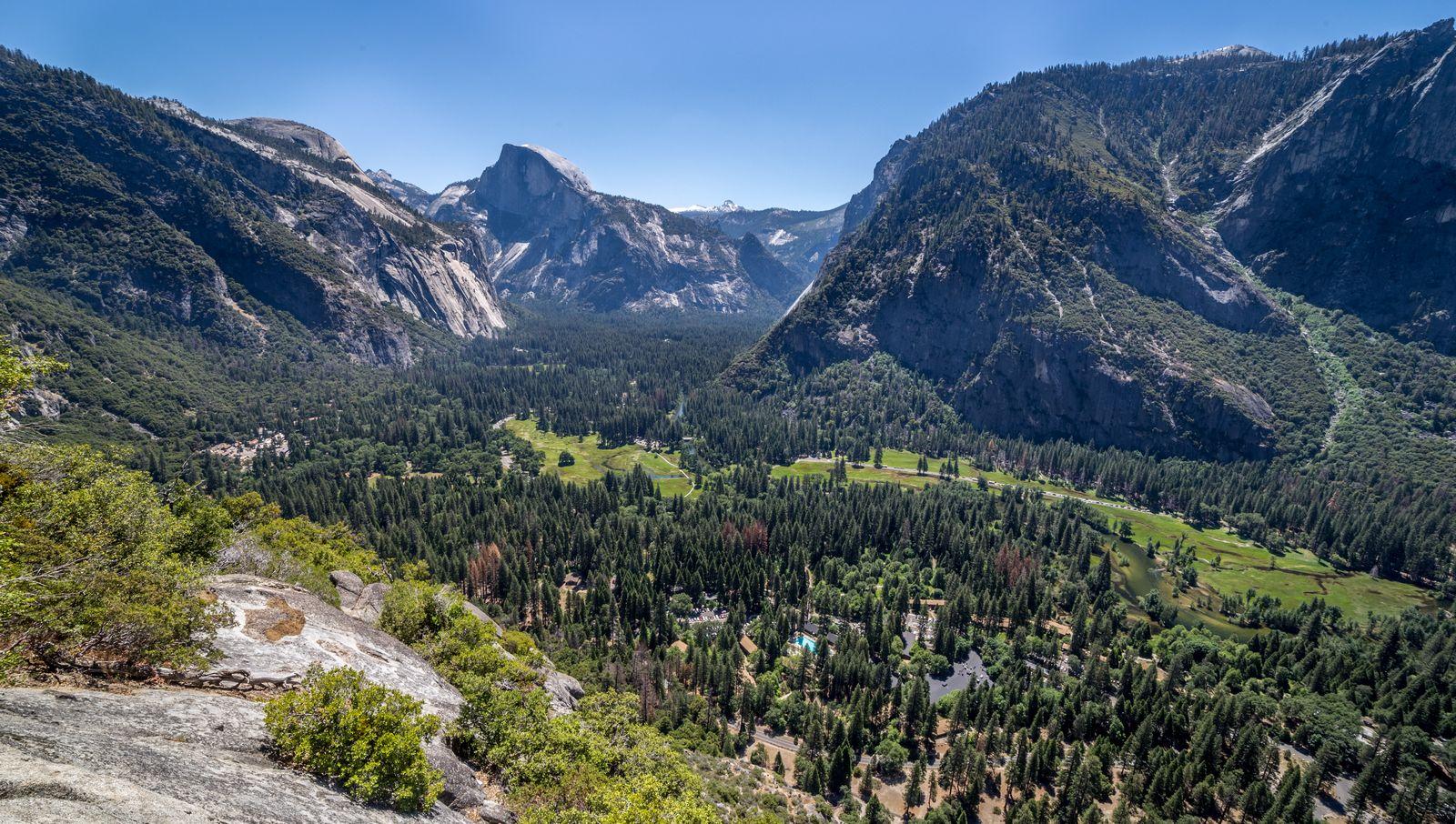 El valle como nunca antes lo había visto