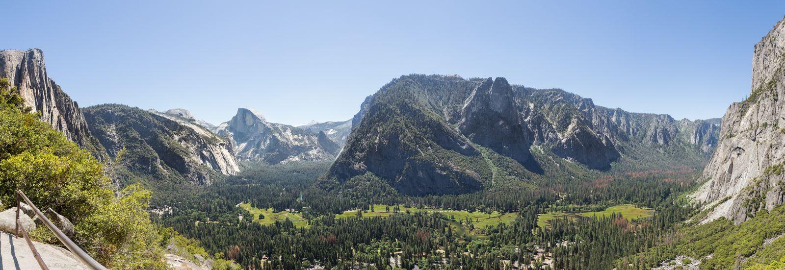 Las vistas desde Columbia Rock