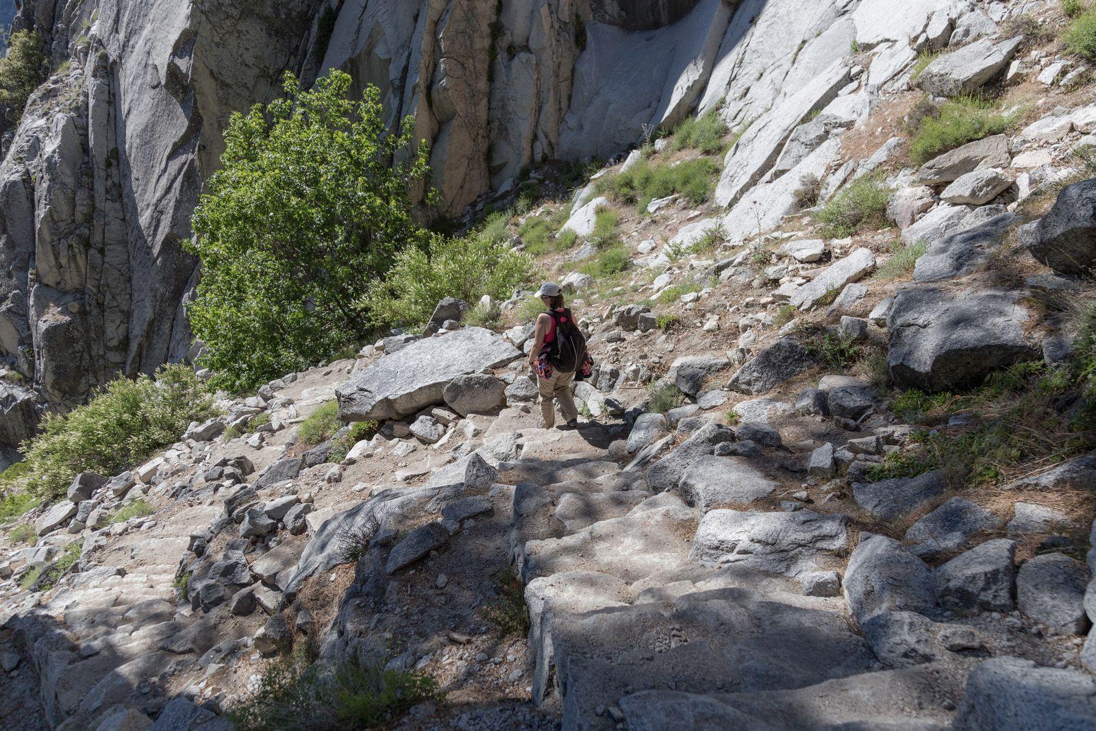 El maldito Mist Trail