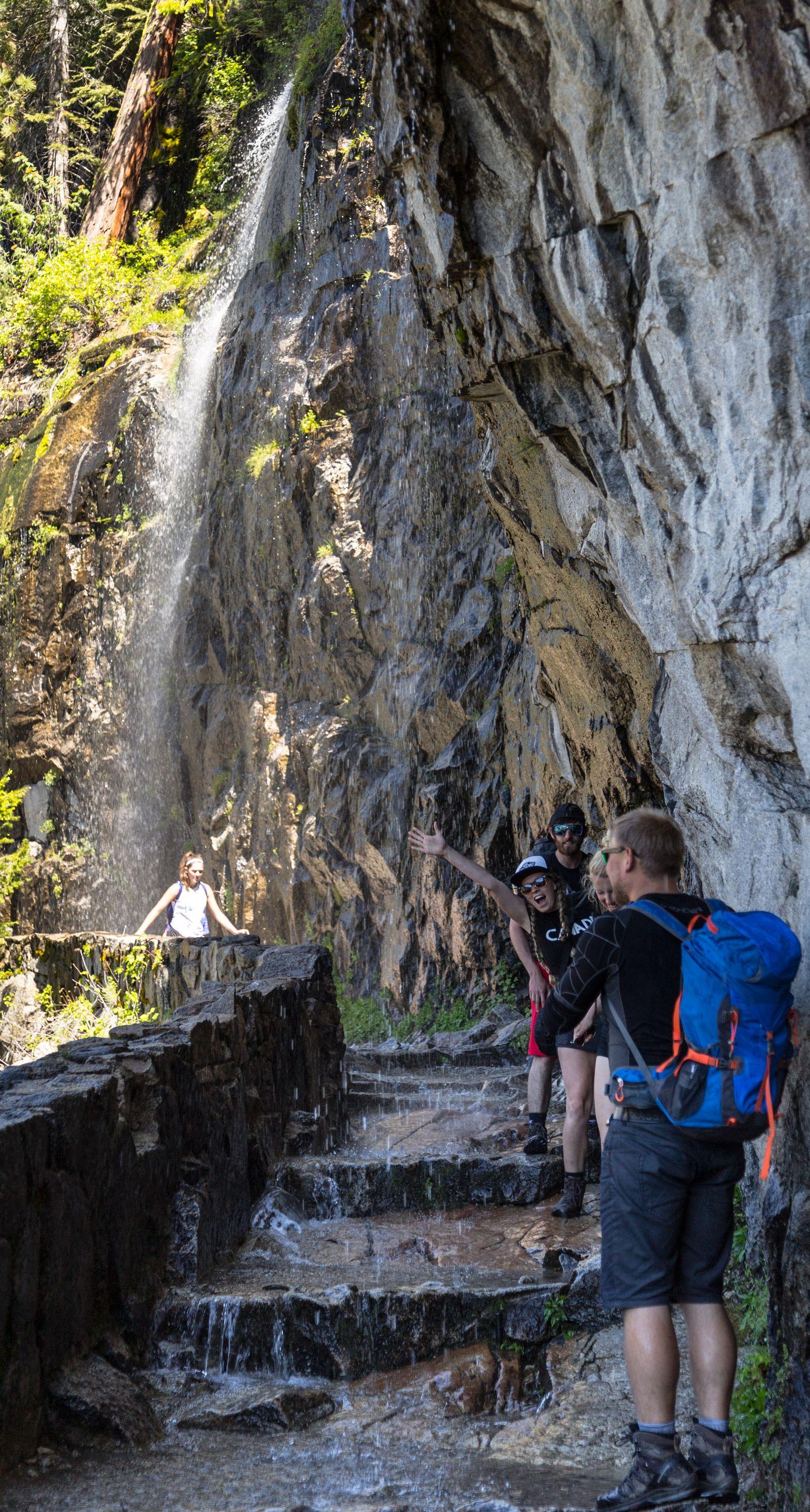 El peaje al iniciar el John Muir Trail