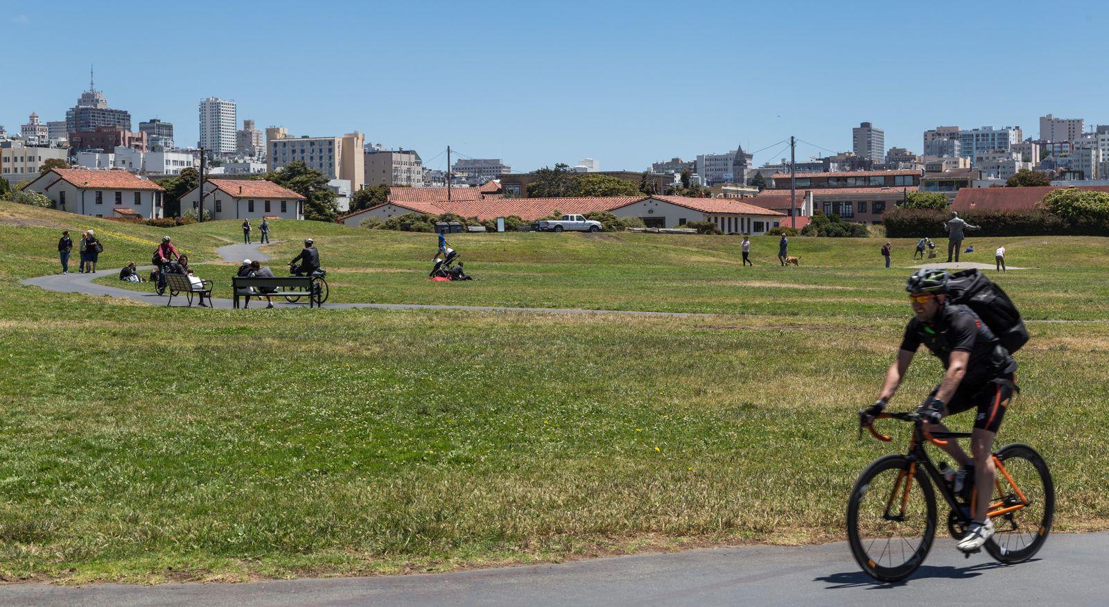 Atravesando parques
