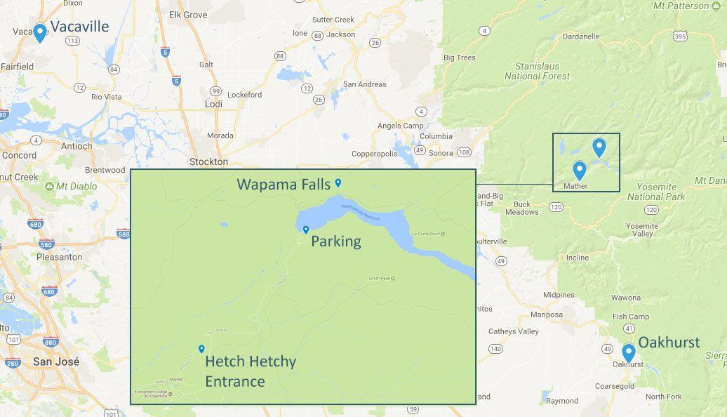 Mapa de la etapa 9