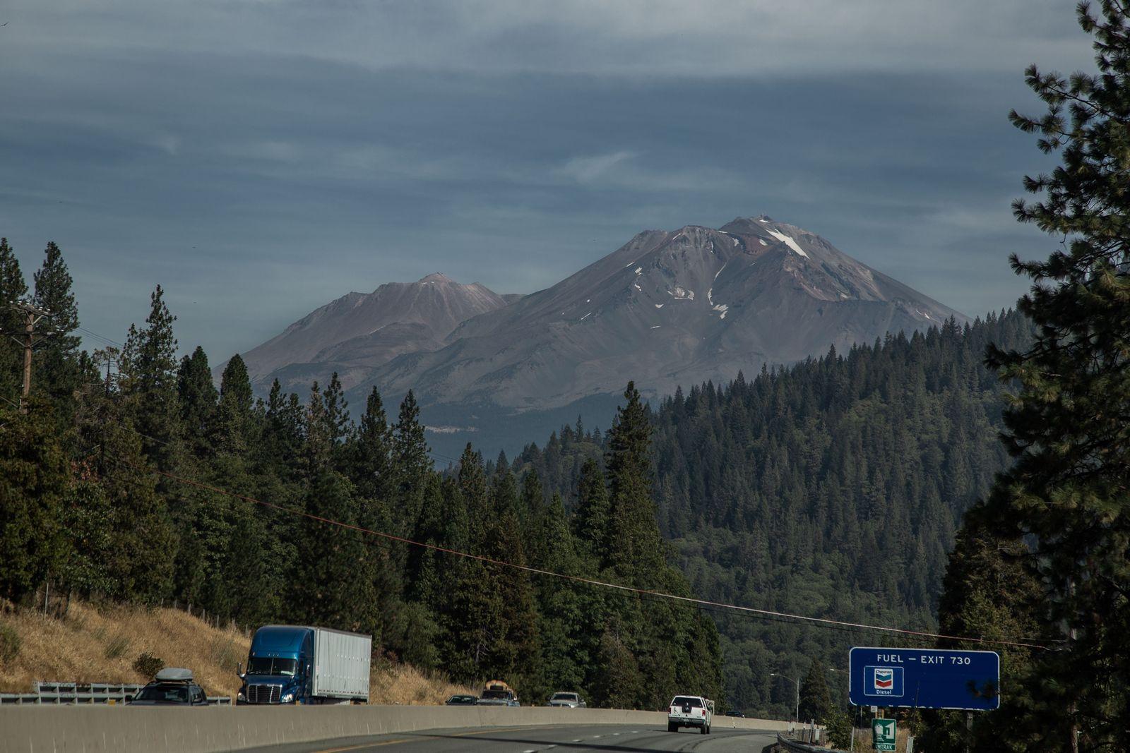 Nos acercamos a Mount Shasta