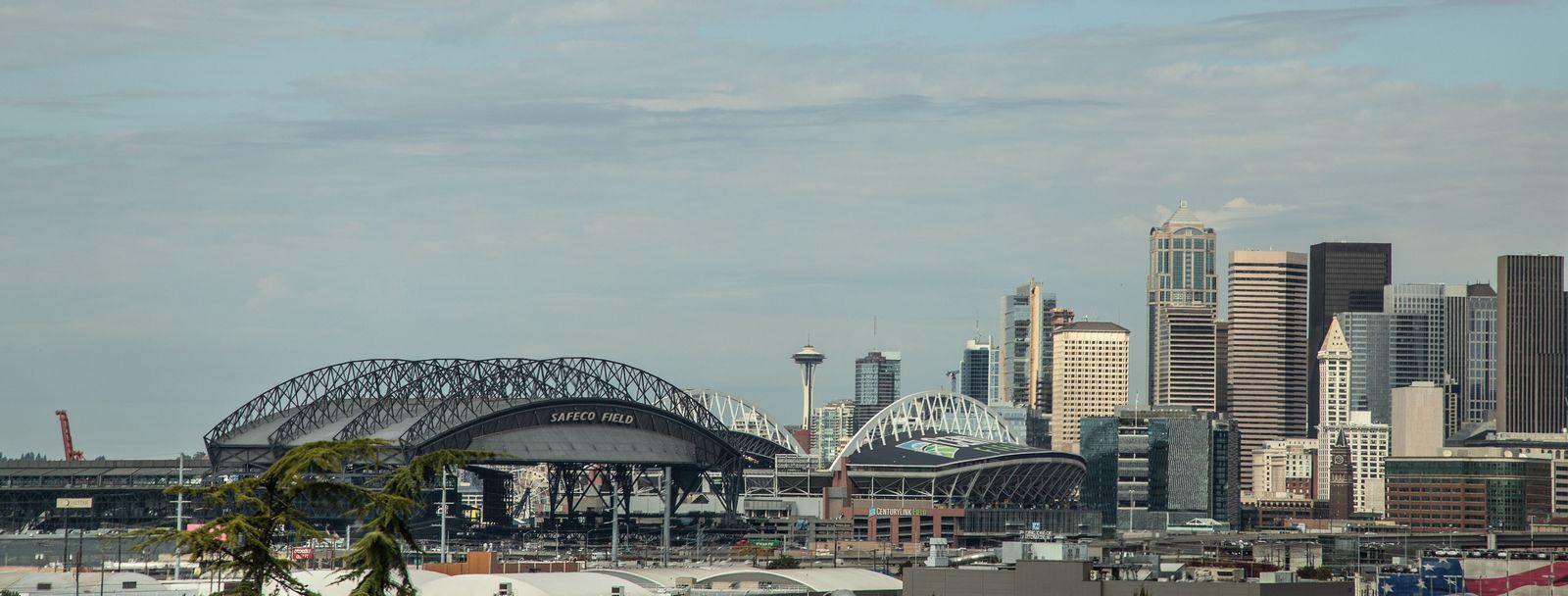 Safeco Field, donde juegan a béisbol los Seattle Mariners