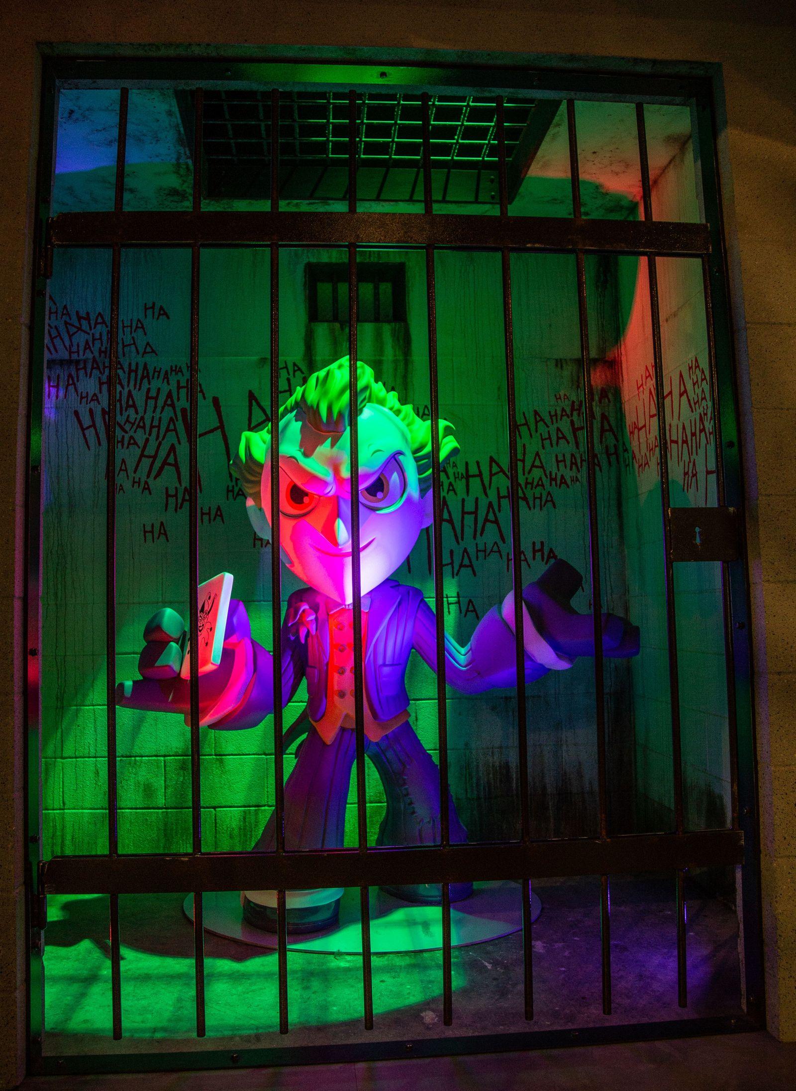 El Joker, entre rejas