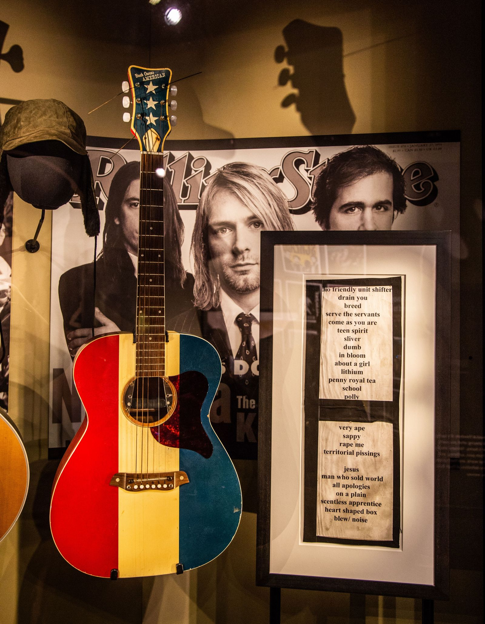 Así empezaban las guitarras de Kurt...