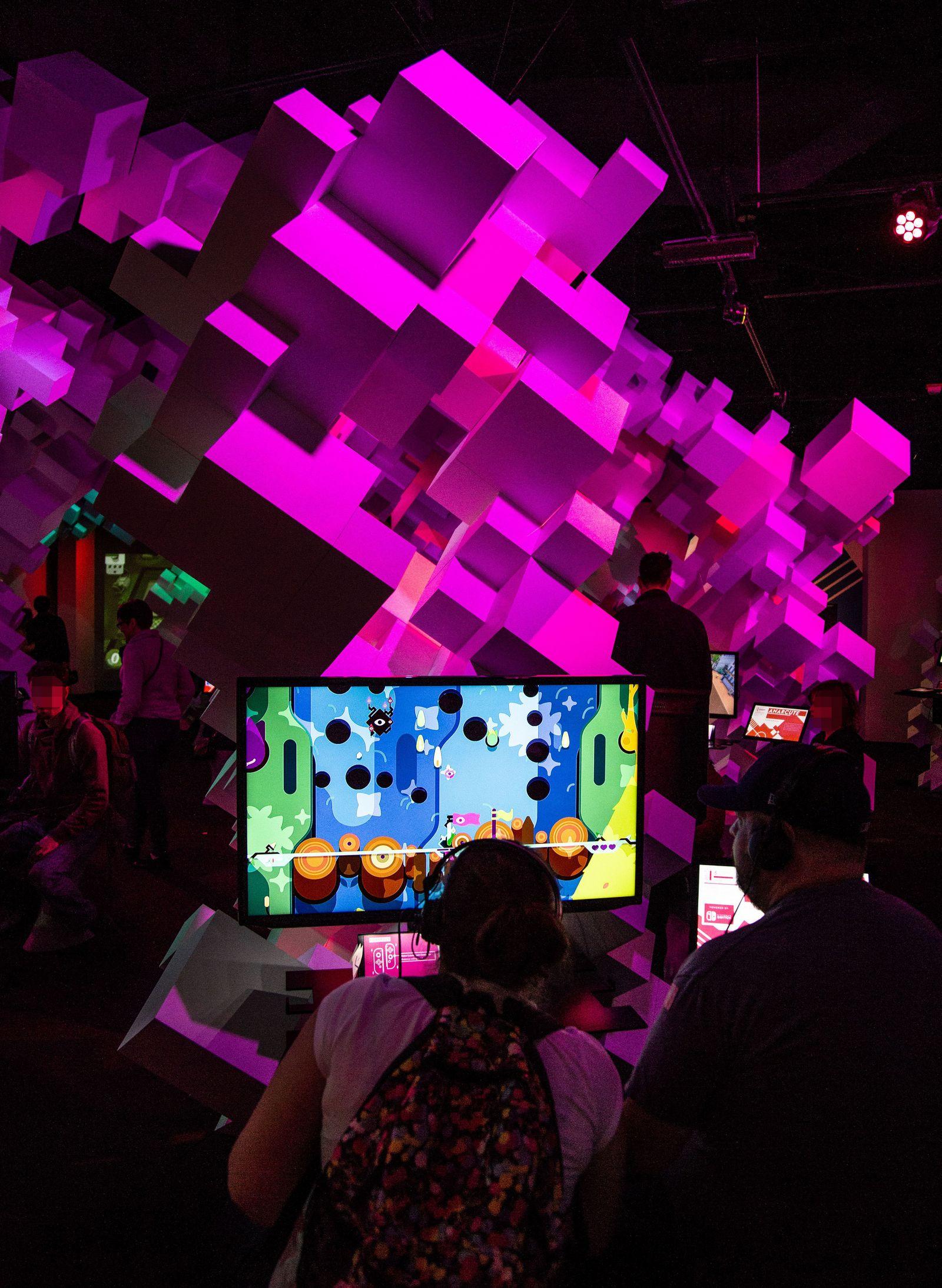 Espiando en la sala de juegos indie