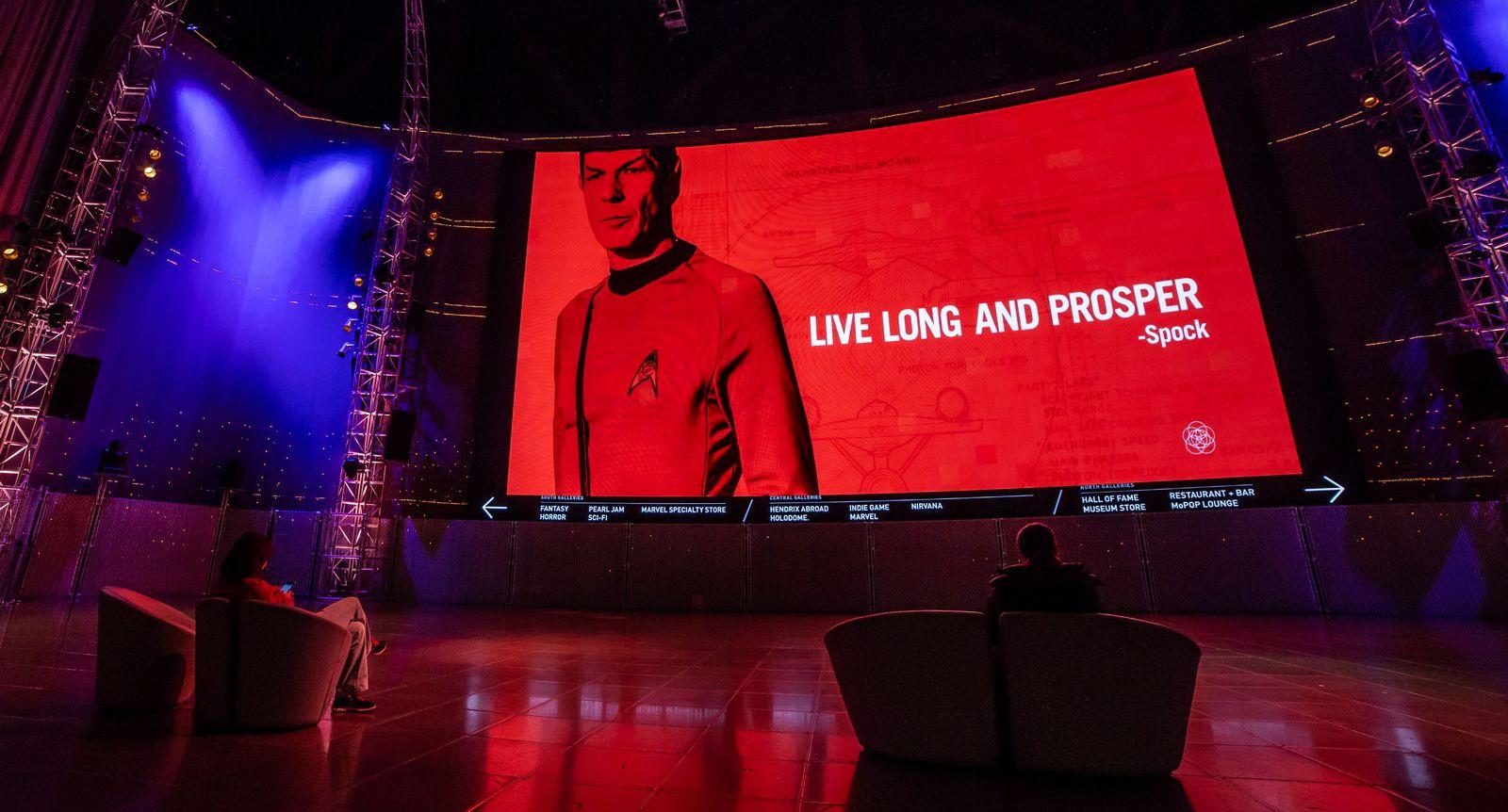 Un último mensaje de Spock