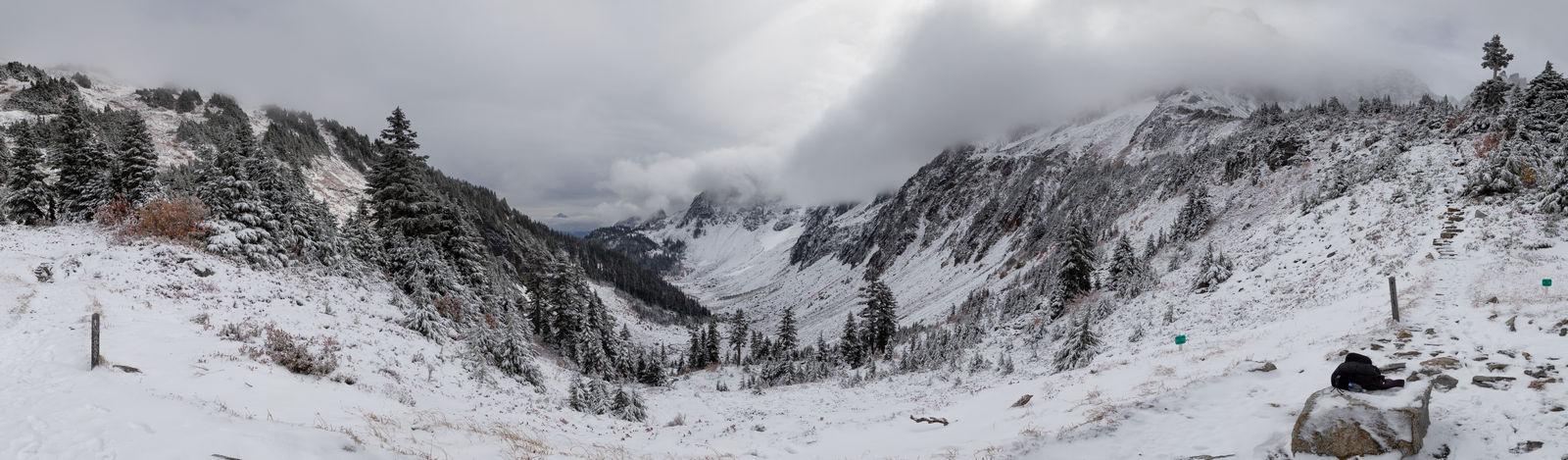 Y aquí está Cascade Pass