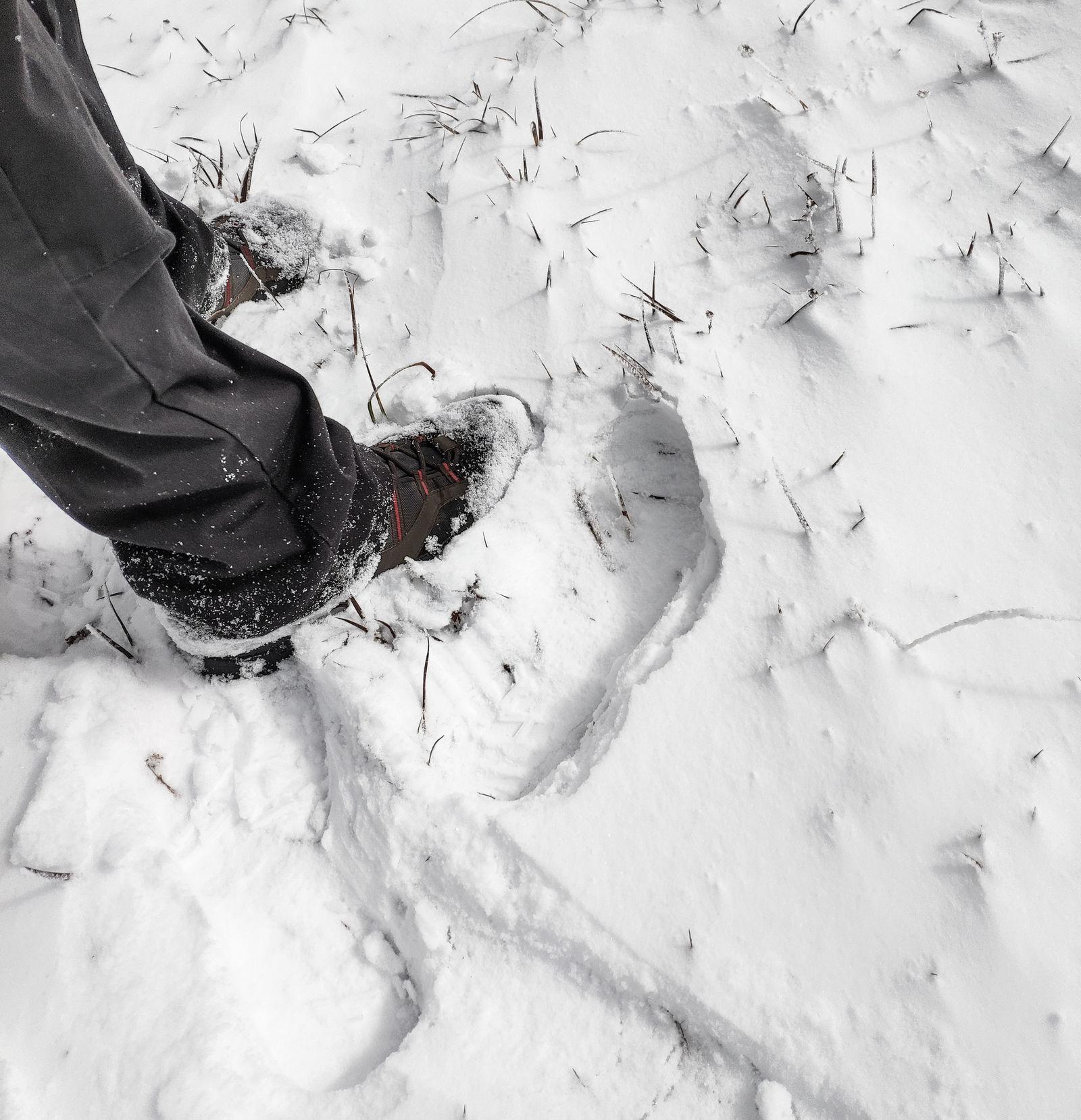 Hundiendo las botas