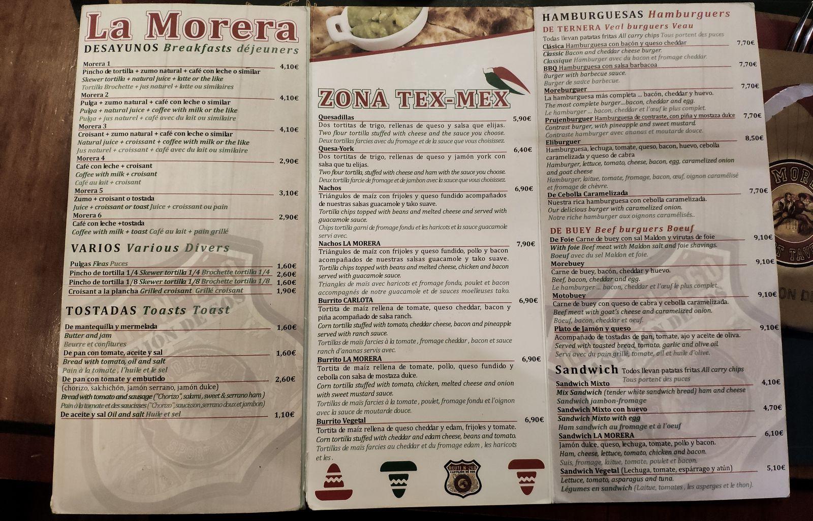 La carta de La Morera