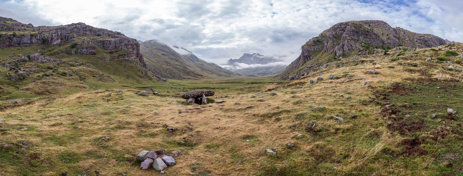 Panorámica desde el dolmen