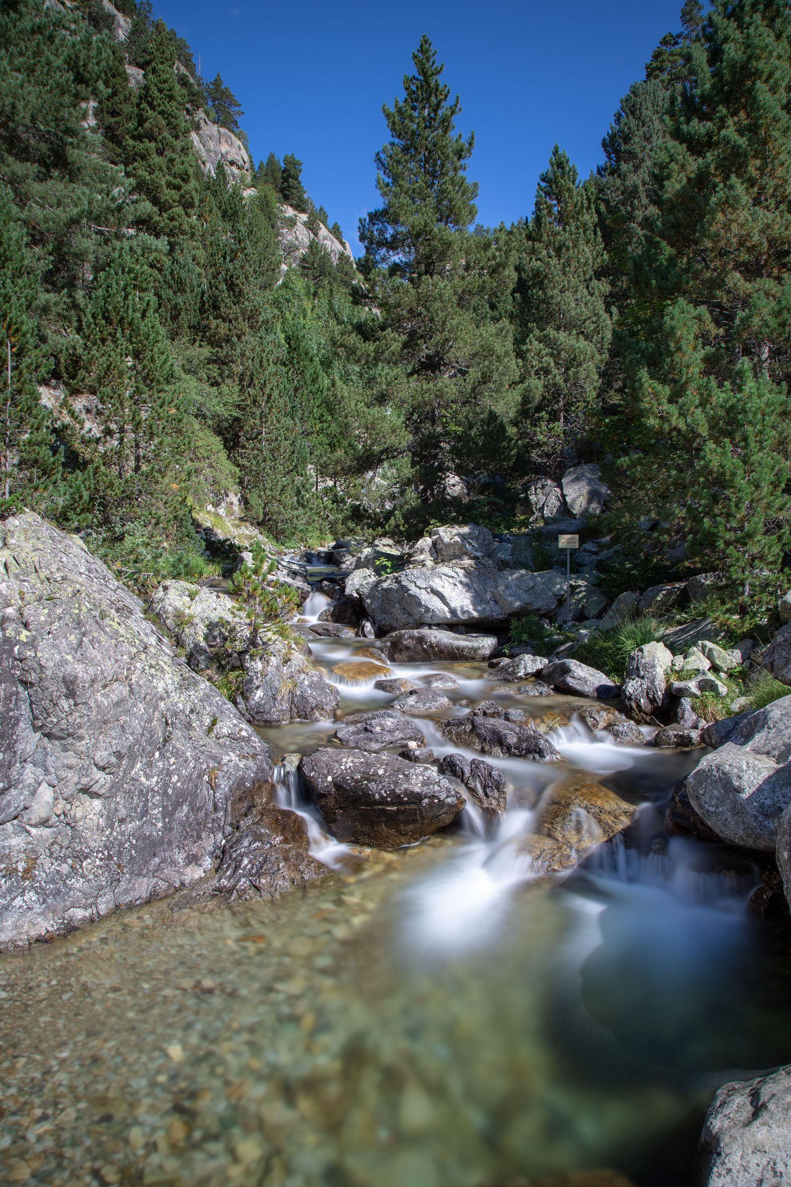 Una pausa en el Río Caldarés