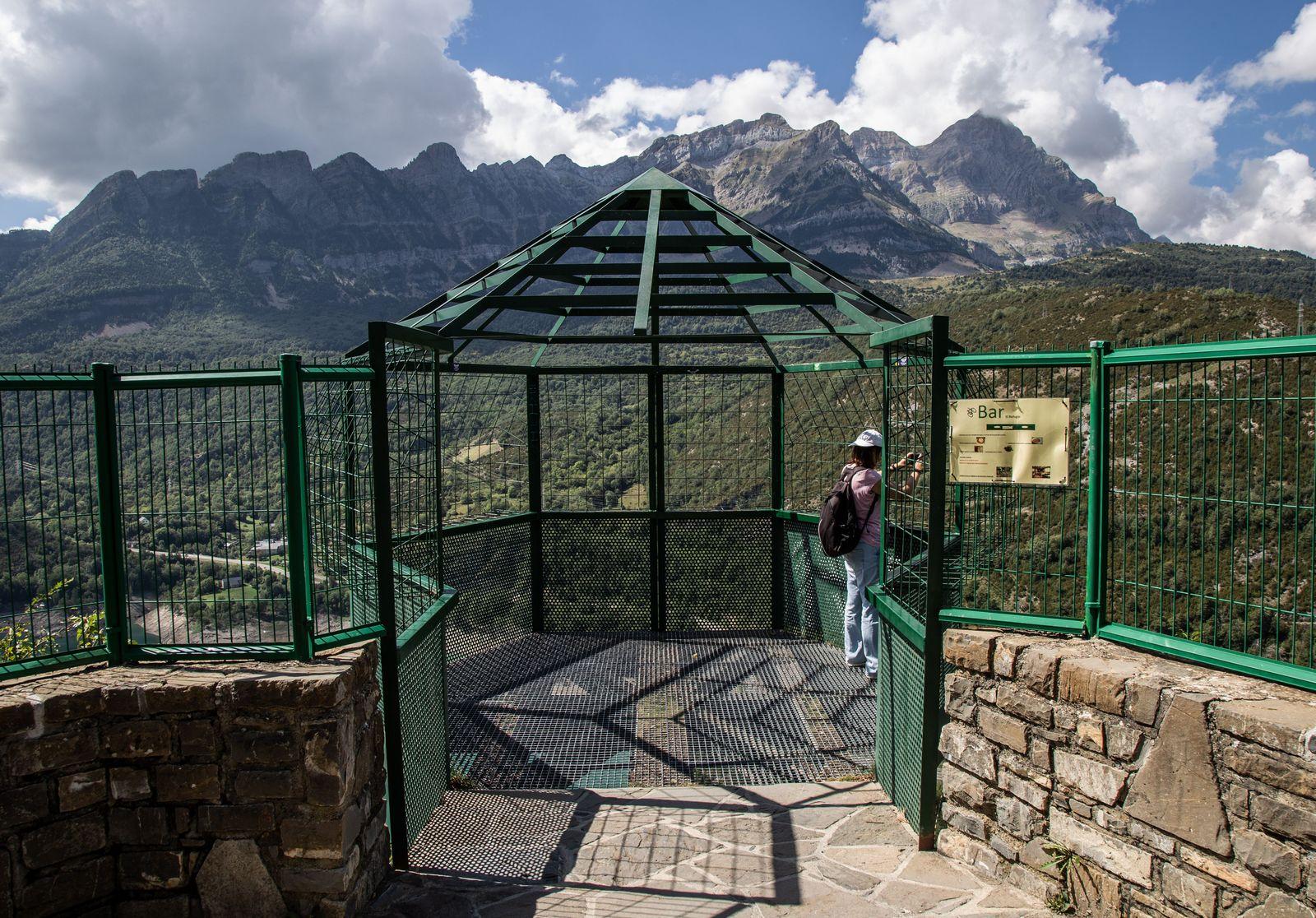 La jaula-mirador