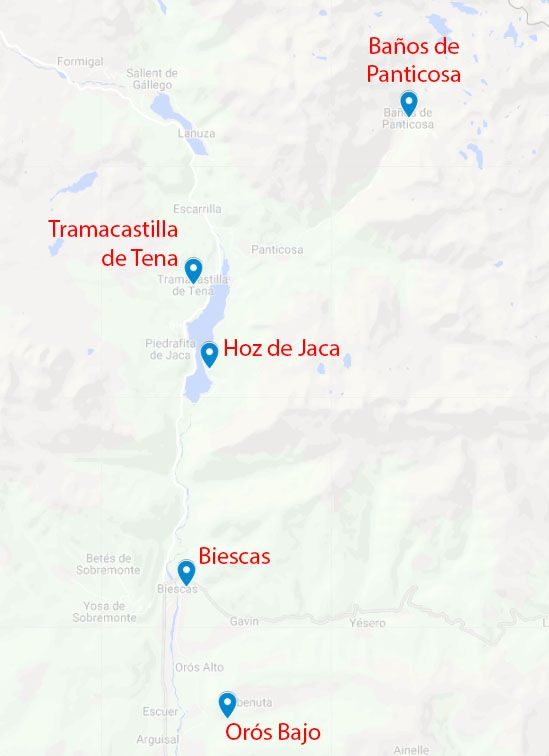 Mapa de la etapa 6