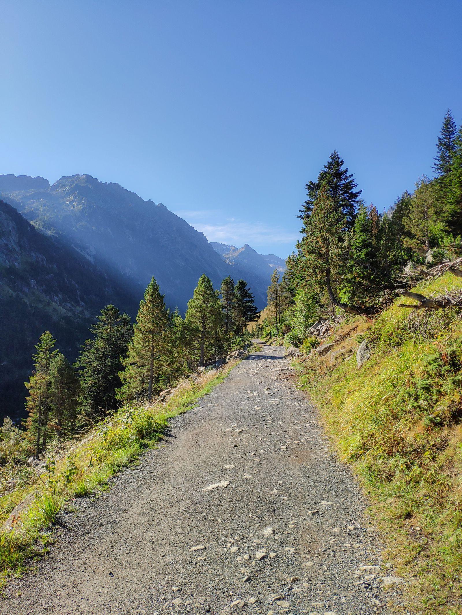 El plácido camino hasta el lago