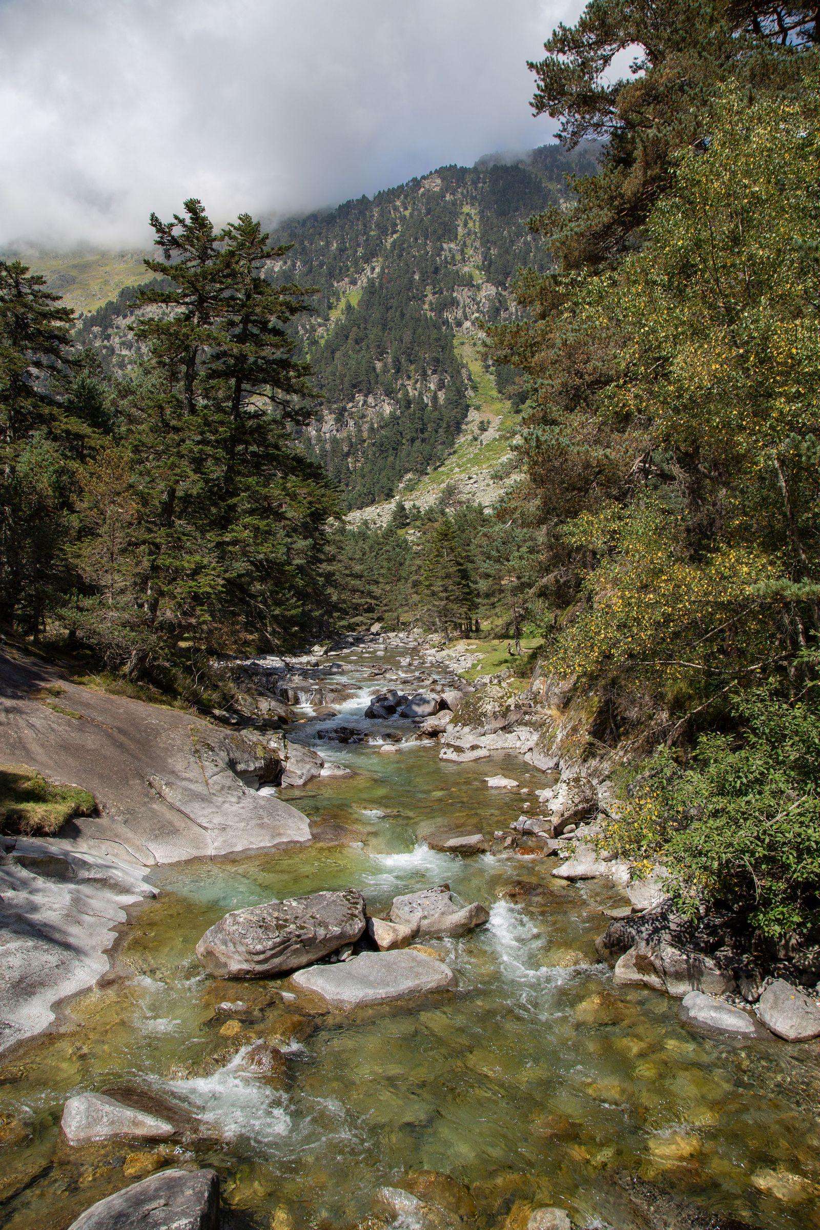 El río que separa las estaciones, ahora con mejor luz