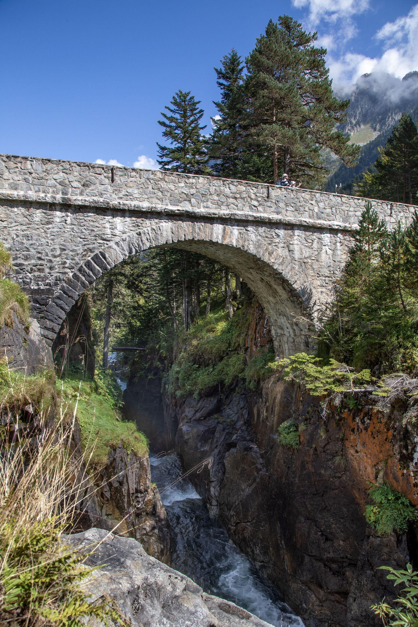 Y el Pont d'Espagne, ahora desde el otro lado