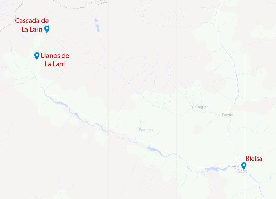 Mapa de la etapa 11