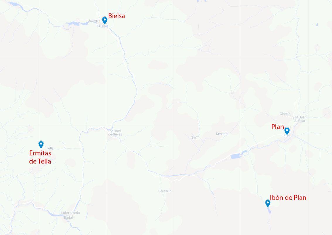 Mapa de la etapa 12
