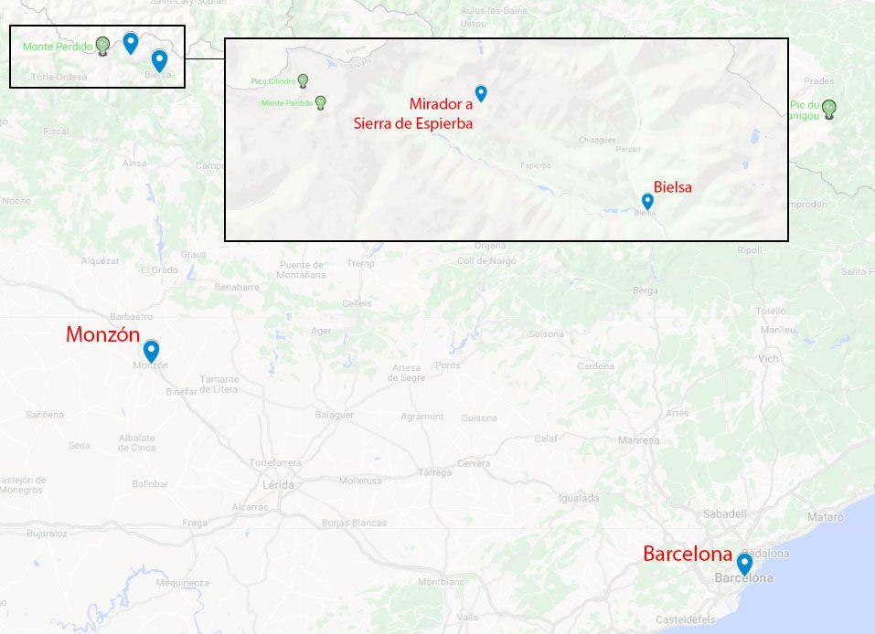 Mapa de la etapa 13