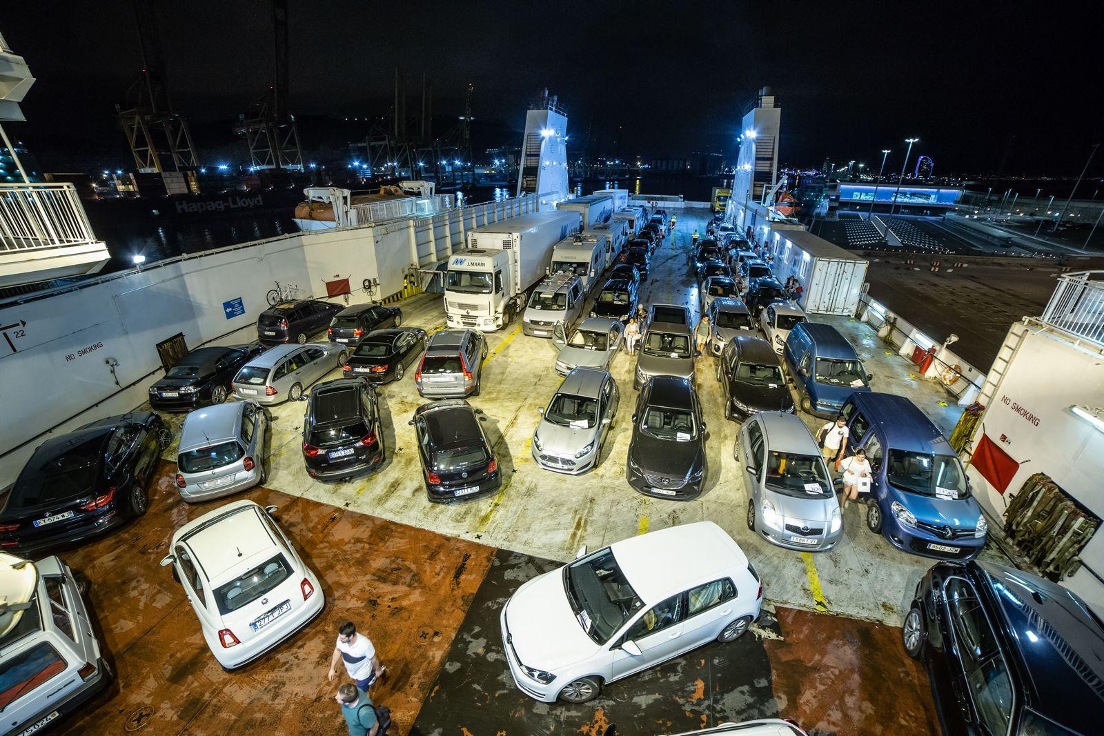 Embarcados y aparcados