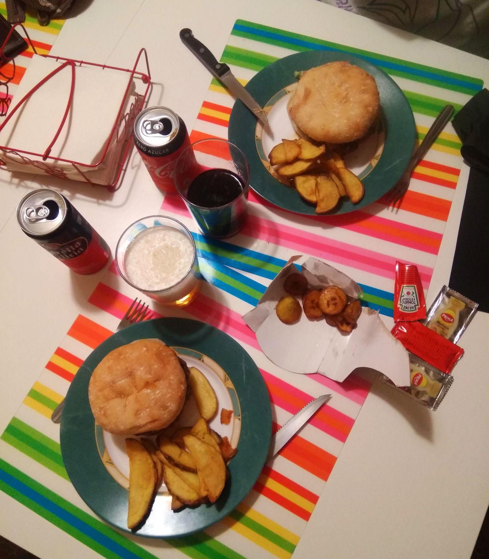 Nuestra cena a domicilio