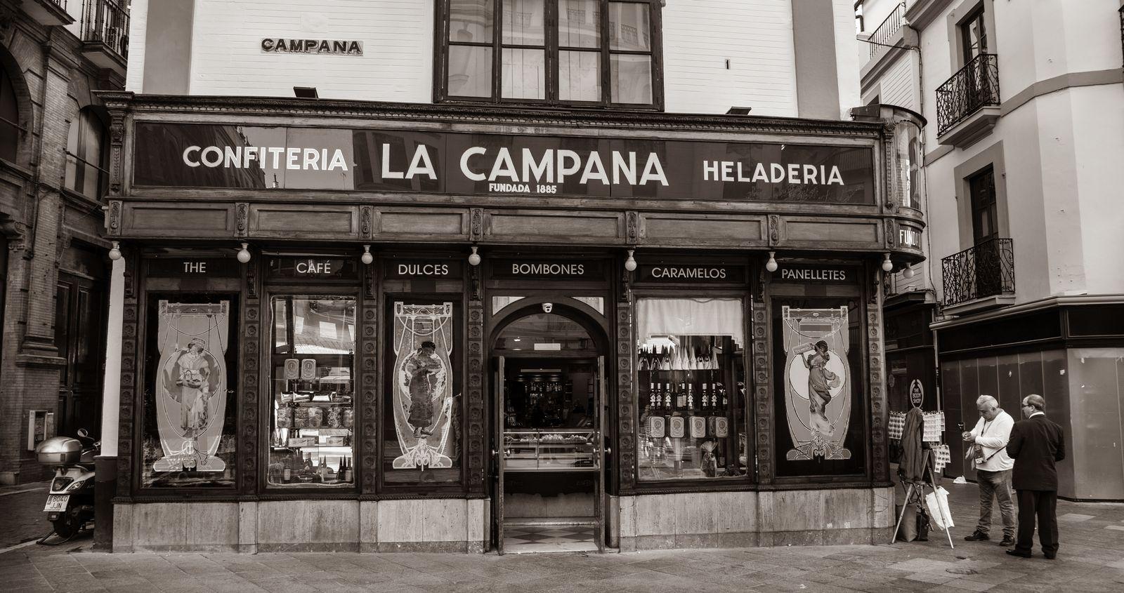 Confitería La Campana, otra vez será