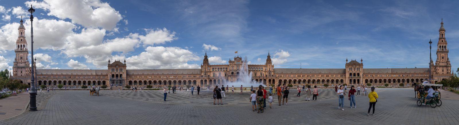Bienvenidos a la Plaza de España